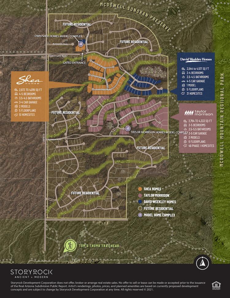 Storyrock Community Map